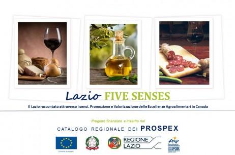 Lazio FIVE SENSES